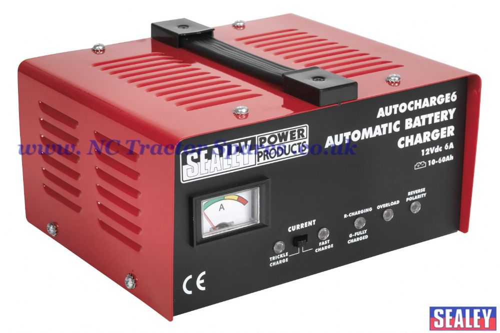 Battery Charger Electronic 6Amp 12V 230V